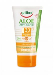 Aloe Sun Cream SPF 30 Αντηλιακή Κρέμα Σώματος SPF 30