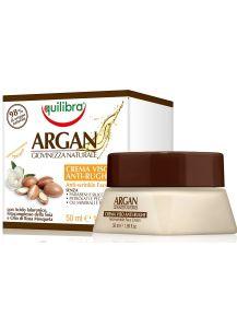 Αντιγηραντική- Συσφικτική Κρέμα Προσώπου Με Έλαιο Αργκάν & Αγριοτριαντάφυλλο